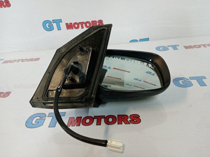 Зеркало боковое Toyota Corolla Fielder NZE141G 1NZ-FE 2008 переднее правое