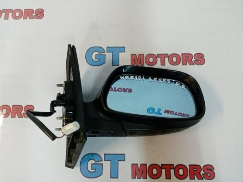 Зеркало боковое Toyota Corolla Fielder NZE121G 1NZ-FE 2001 переднее правое