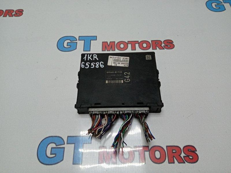 Компьютер (блок управления) Toyota Passo KGC10 1KR-FE 2007