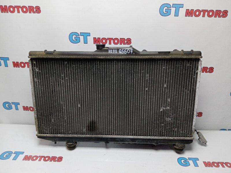 Радиатор двигателя Toyota Corolla Spacio AE111N 4A-FE 1999