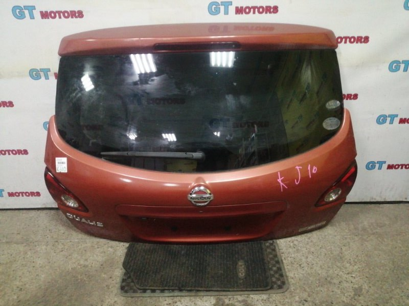 Дверь задняя багажника Nissan Dualis KJ10 MR20DE
