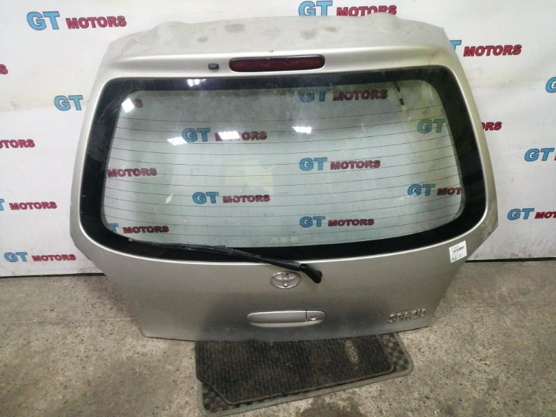 Дверь задняя багажника Toyota Corolla Spacio AE111N 4A-FE