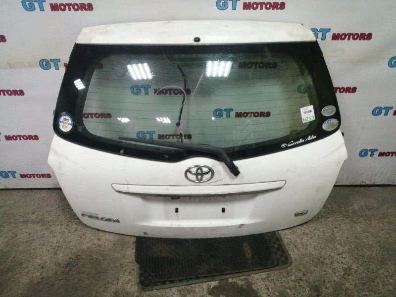 Дверь задняя багажника Toyota Corolla Fielder NZE141 1NZ-FE