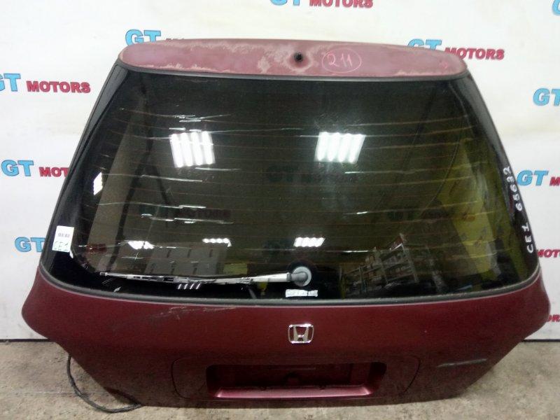Дверь задняя багажника Honda Accord Wagon CE1 F22B 1995