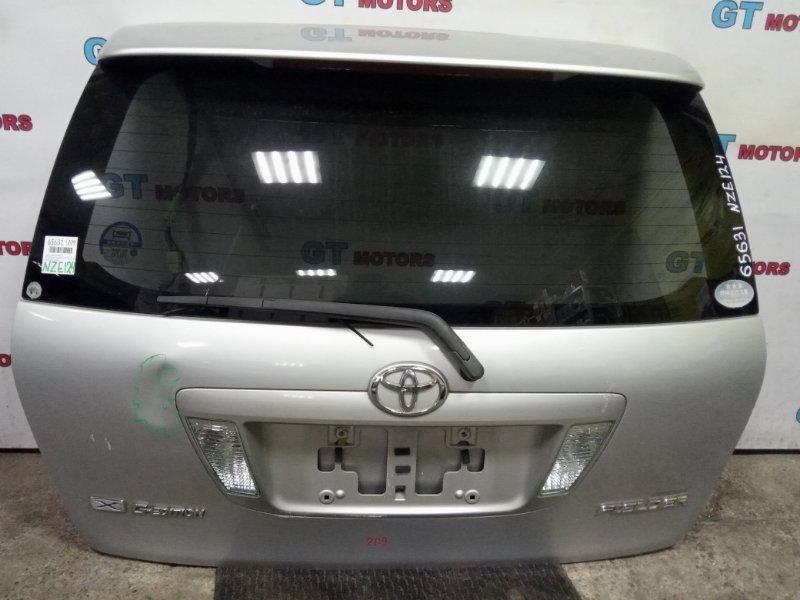 Дверь задняя багажника Toyota Corolla Fielder NZE124 1NZ-FE 2004