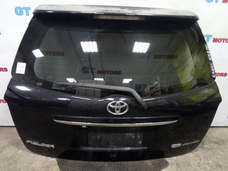 Дверь задняя багажника Toyota Corolla Fielder NZE141 1NZ-FE 2008