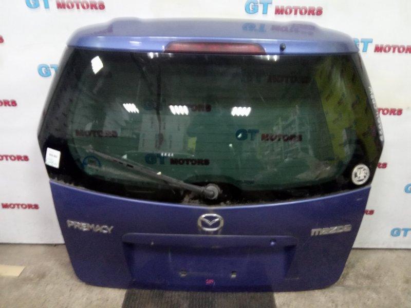 Дверь задняя багажника Mazda Premacy CP8W FP-DE 2000