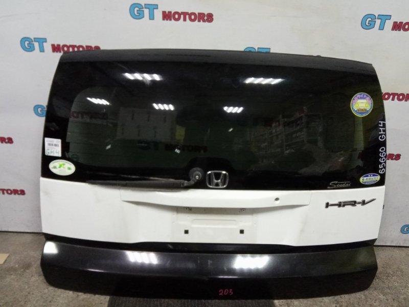 Дверь задняя багажника Honda Hr-V GH4 D16A 2002