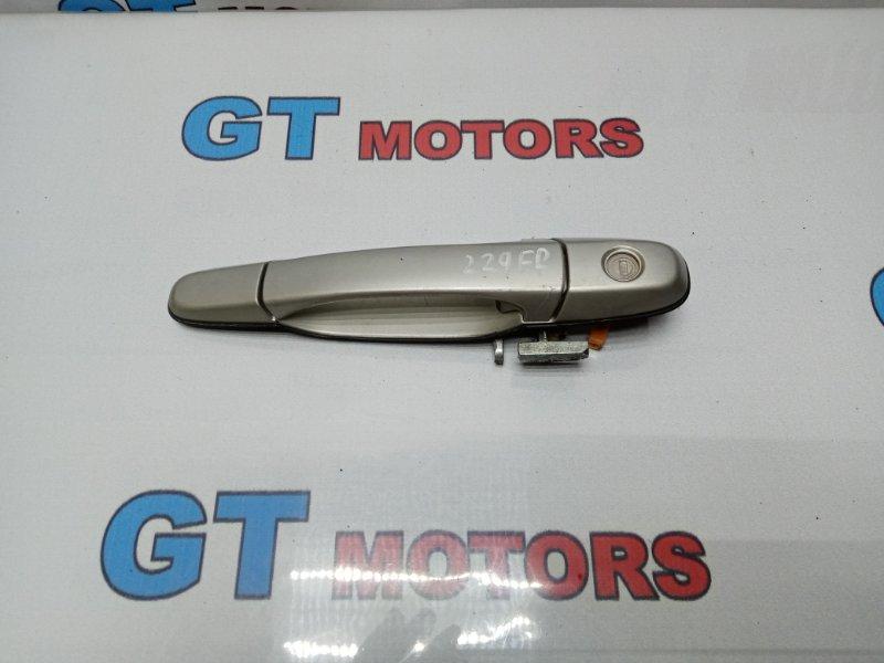 Ручка наружная Toyota Altezza SXE10 3S-GE 2002 передняя правая