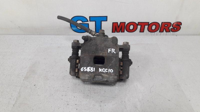 Суппорт Toyota Passo KGC10 1KR-FE передний правый