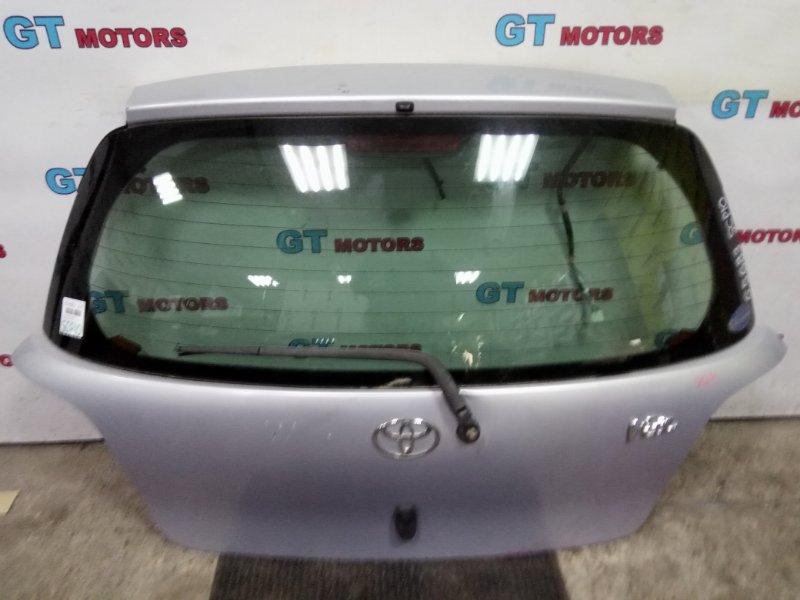 Дверь задняя багажника Toyota Vitz SCP10 1SZ-FE 2003