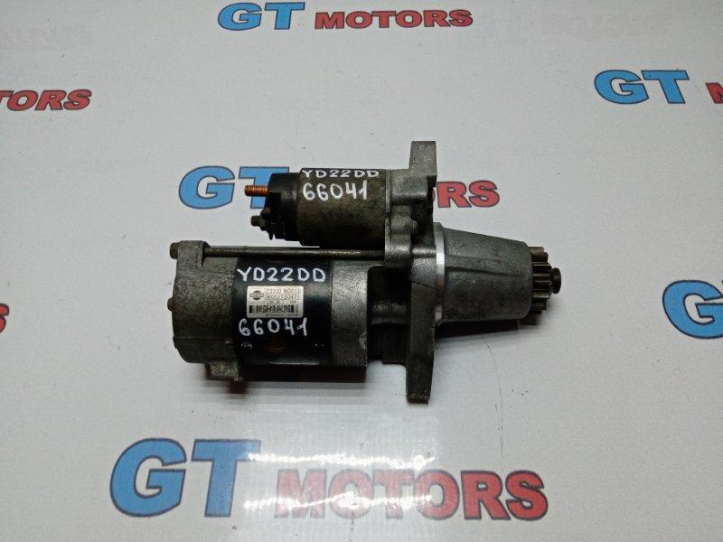 Стартер Nissan Expert VEW11 YD22DD 2000