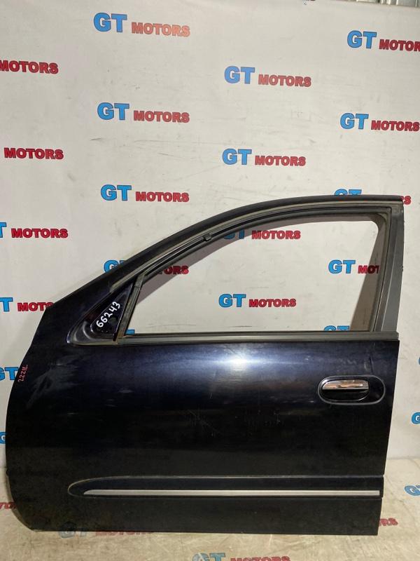 Дверь боковая Nissan Bluebird Sylphy QG10 QG18DE 2005 передняя левая