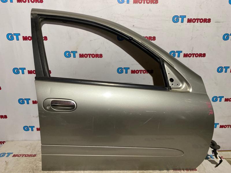 Дверь боковая Nissan Bluebird Sylphy FG10 QG15DE 2001 передняя правая