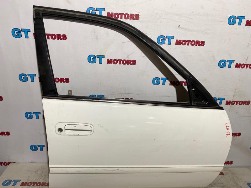 Дверь боковая Toyota Corolla AE110 5A-FE 1998 передняя правая