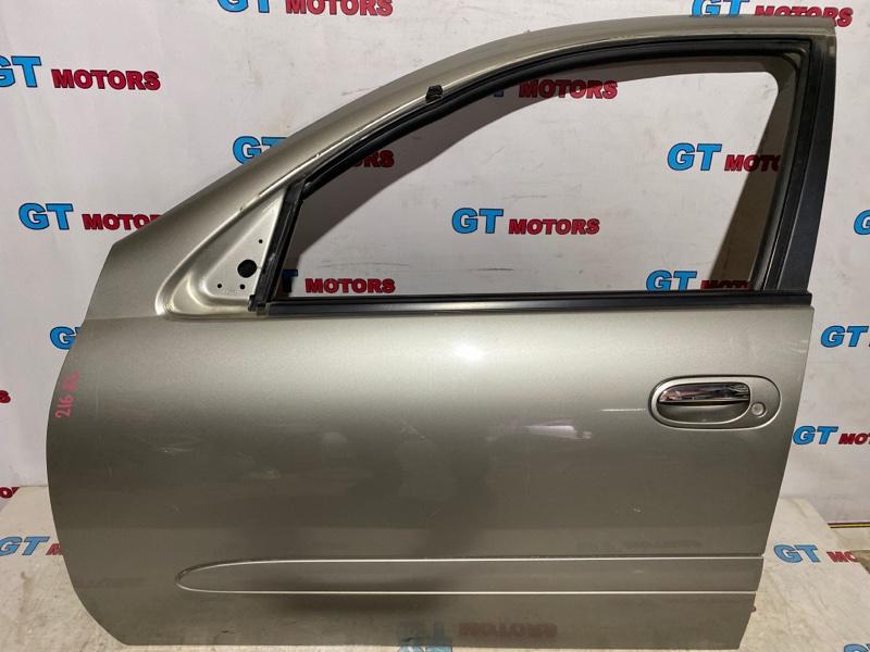 Дверь боковая Nissan Bluebird Sylphy FG10 QG15DE 2001 передняя левая