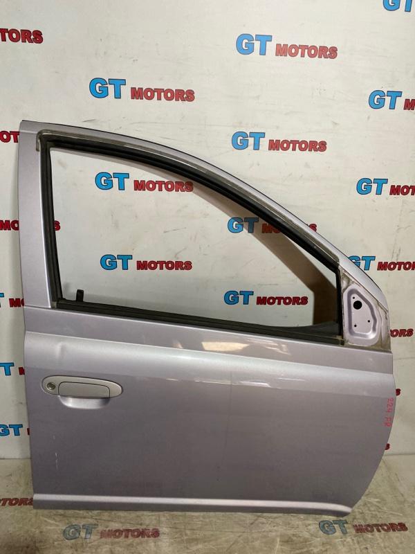 Дверь боковая Toyota Vitz SCP10 1SZ-FE 2003 передняя правая