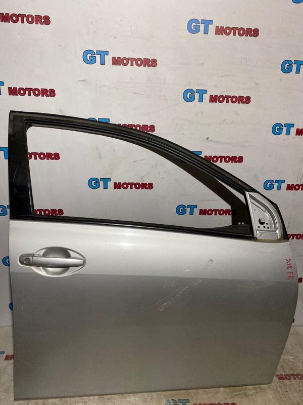 Дверь боковая Toyota Corolla Fielder NZE141 1NZ-FE 2010 передняя правая