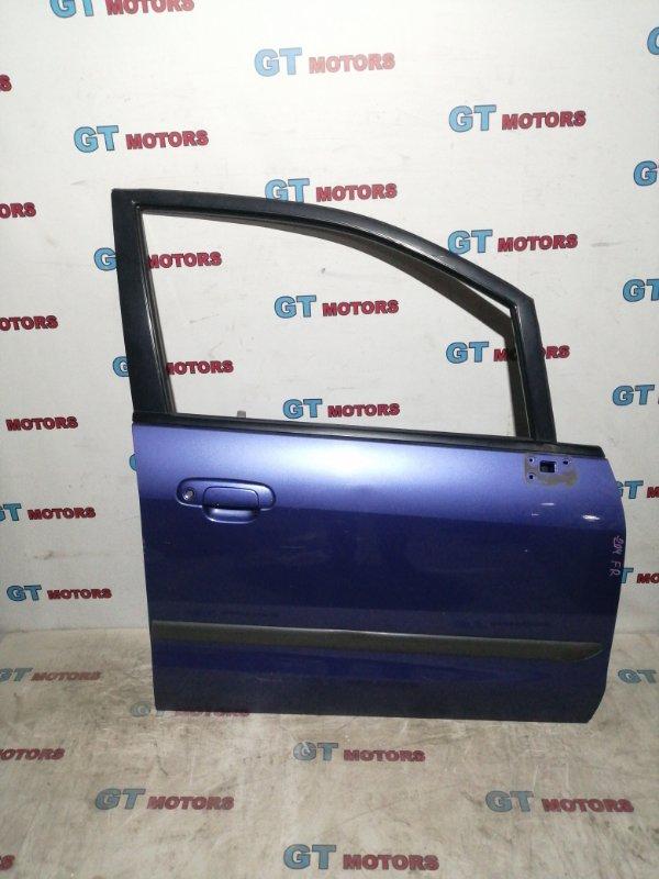 Дверь боковая Mazda Premacy CP8W FP-DE 2000 передняя правая