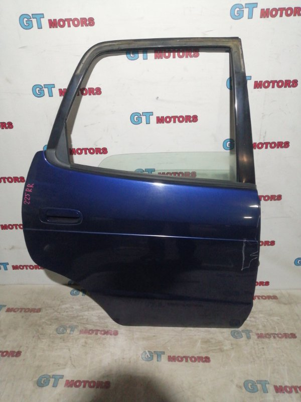 Дверь боковая Toyota Corolla Spacio AE111N 4A-FE 1998 задняя правая
