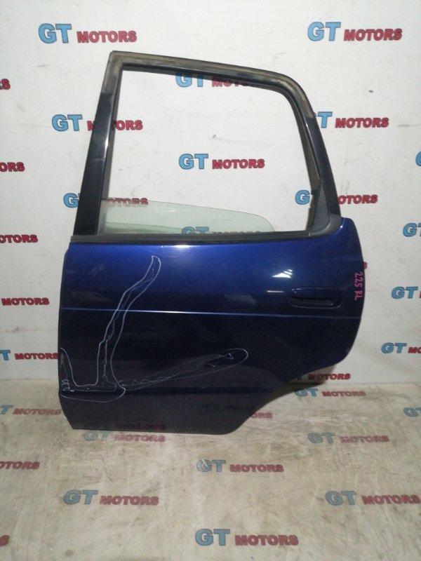 Дверь боковая Toyota Corolla Spacio AE111N 4A-FE 1998 задняя левая