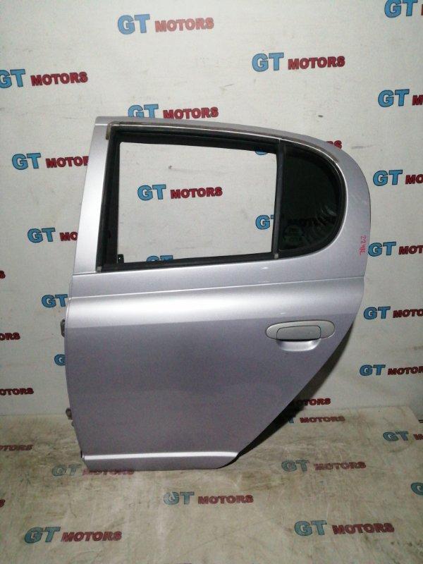 Дверь боковая Toyota Vitz SCP10 1SZ-FE 2003 задняя левая