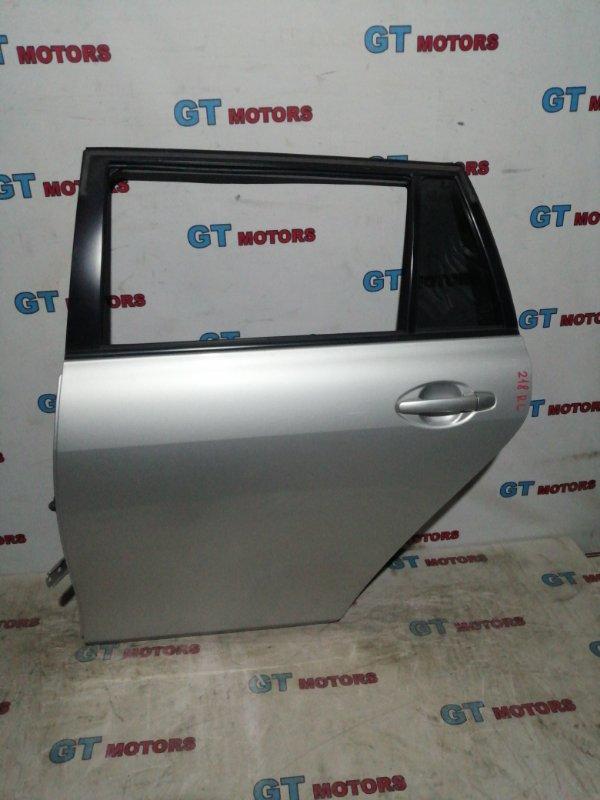 Дверь боковая Toyota Corolla Fielder NZE141 1NZ-FE 2010 задняя левая