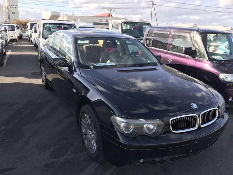 Авто на разбор Bmw 735I E65 N62 B36A 2001 05.2004 г.в. VIN WBAGL41040DL96435 Левый руль, пробег 74320 км. ДВС N62