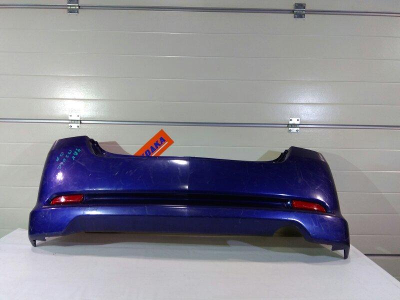 Бампер Daihatsu Yrv M201G K3-VE 2000 задний 0 фиолет, с катафотами