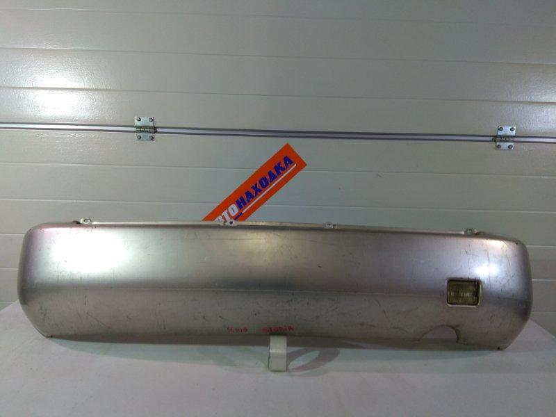 Бампер Daihatsu Storia M100S EJ-DE задний 0, серебро,1мод, с зад.ходом под покраску