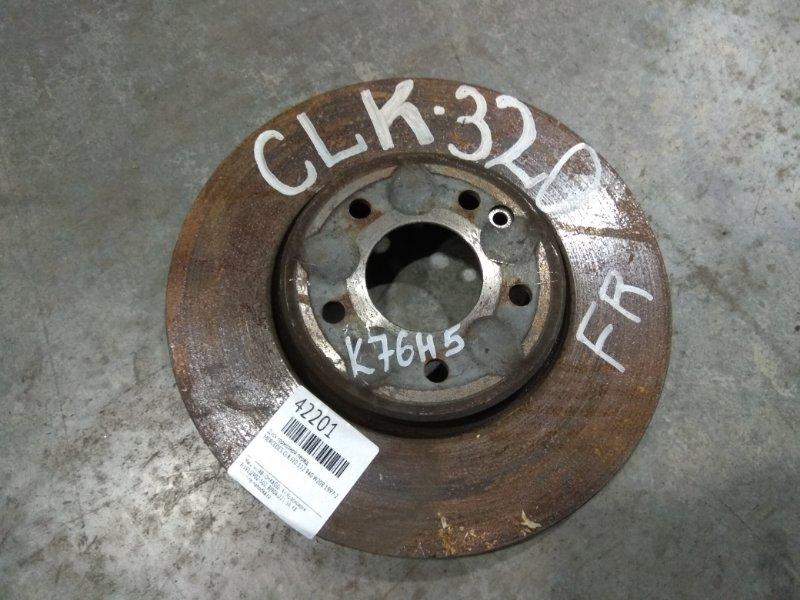 Диск тормозной Mercedes-Benz Clk320 208.365 112.940 1997 передний