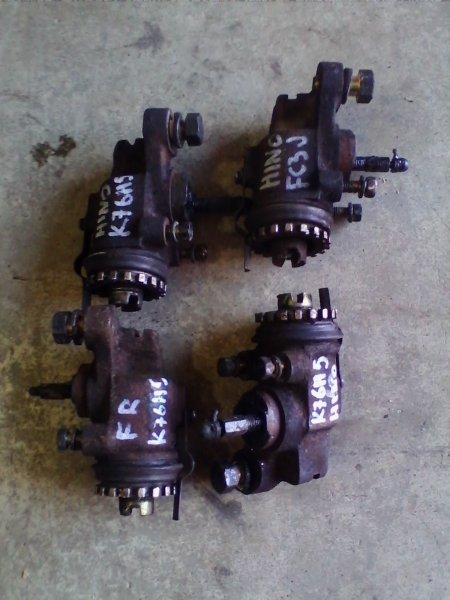 Рабочий тормозной цилиндр Hino Ranger FC3JKBA J07C 1997 передний левый FL РТЦ верхний=нижний / ХТС