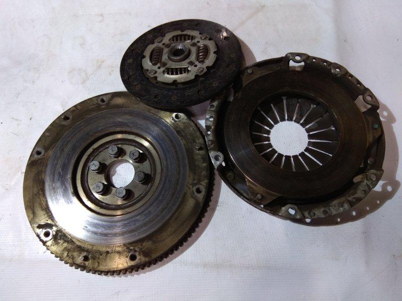Сцепление в сборе Nissan Sunny FB15 QG15DE 1998 под МКПП + болты + корзина + диск , 57 т.км.