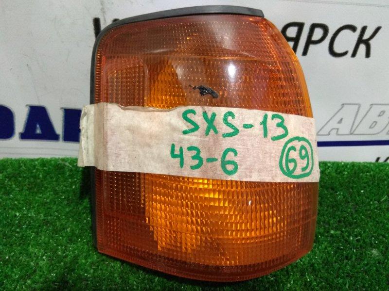 Фонарь габаритный Toyota Crown Comfort SXS13Y 43-6 R оранж. /К69