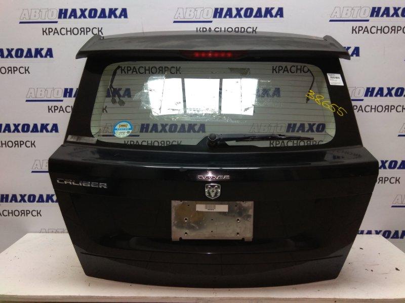 Дверь задняя Dodge Caliber PM20 ECN к78, черная, вся в сборе