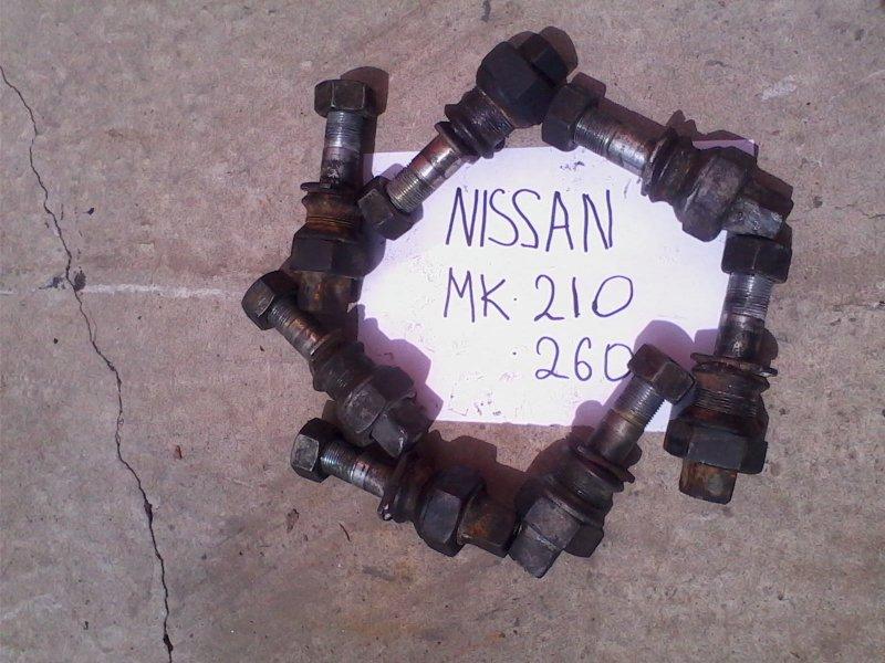 Футорка Nissan Diesel MK260 MD92 1995 задняя правая задняя, в комплекте со шпилькой+2 гайки(внурт. и