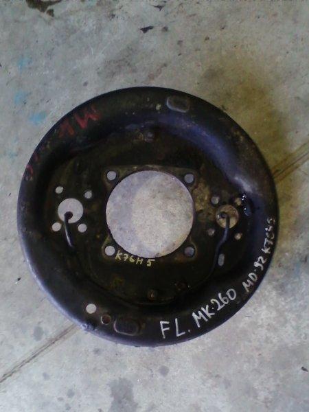 Щиток тормозного диска Nissan Diesel MK260 MD92 1995 передний левый FL-метал.кожух ступицы, с