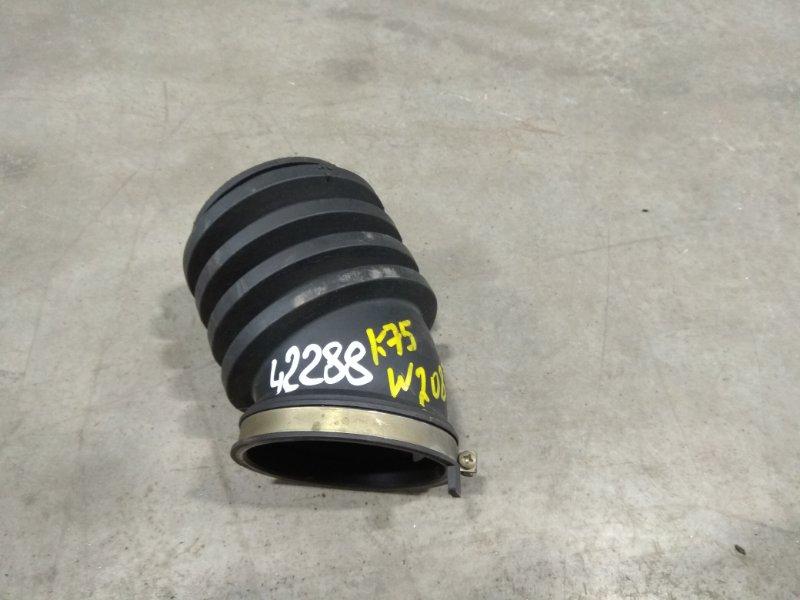 Патрубок воздушного фильтра Mercedes-Benz Clk320 208.365 112.940 1997 к ДМРВ, резиновая, короткая,