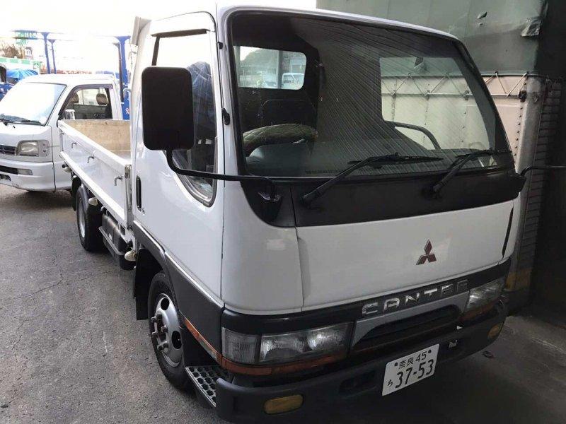 Авто на разбор Mitsubishi Canter FB501B 4M40 1994 бортовой 1,5 тонны,пробег 164т.км / в продаже: ДВС,