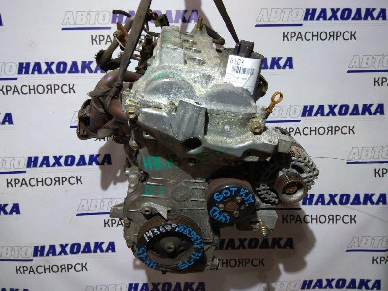 Двигатель Nissan Tiida Latio SC11 HR15DE 143699 Пробег 60 т.км. ХТС. Без впуска, дросселя,