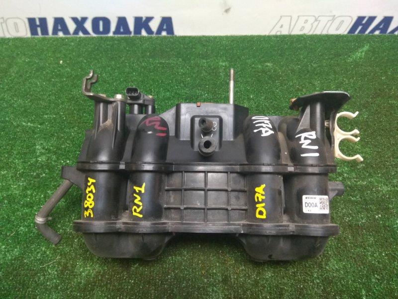 Коллектор впускной Honda Stream RN1 D17A (М50) пластик