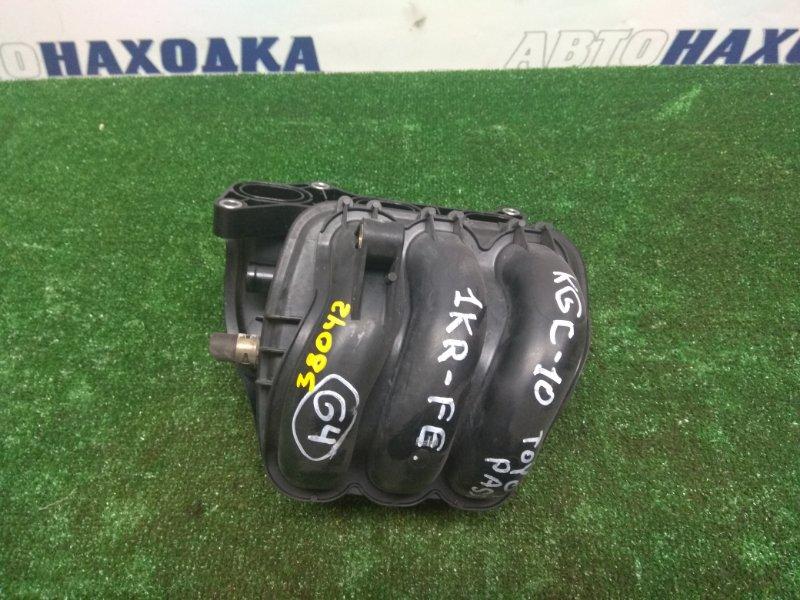 Коллектор впускной Toyota Passo KGC10 1KR-FE пластик (М50) + дмрв