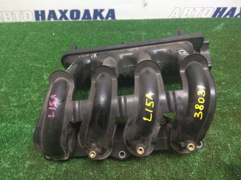 Коллектор впускной Honda Airwave GJ1 L15A задний (М50) пластик (как GD1)