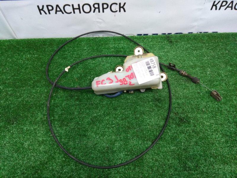 Клапан отсечки топлива Hino Ranger FC3JKBA J07C 1997 86100-9912 под мех.ТНВД, с тросом -195мм , фишка 5к.