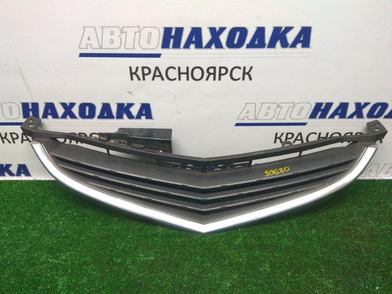 Решетка радиатора Honda Elysion RR1 K24A 2004 к73 черн-некраш с хром кант сост ОК! 1 мод, (та