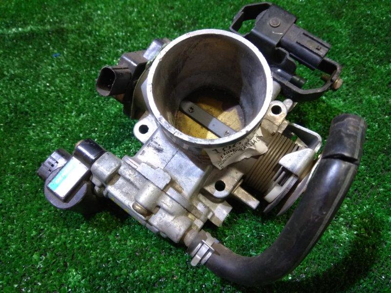 Заслонка дроссельная Honda Fit Aria GD6 L13A снят