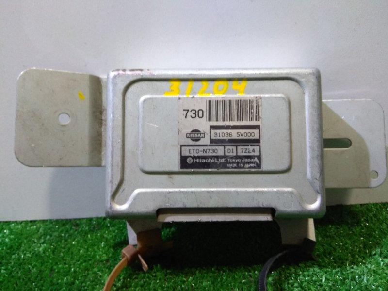 Компьютер Nissan R'nessa N30 SR20DE 31036 5V000 на гидро АКПП, ETC-N730