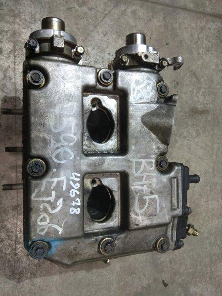 Головка блока цилиндров Subaru Legacy BH5 EJ20-T 1998 левая EJ206 99г. / левая, в сборе: валы,болты