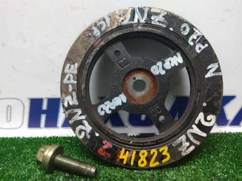 Шкив коленвала Toyota Funcargo NCP20 2NZ-FE (М50) NCP70 + болт
