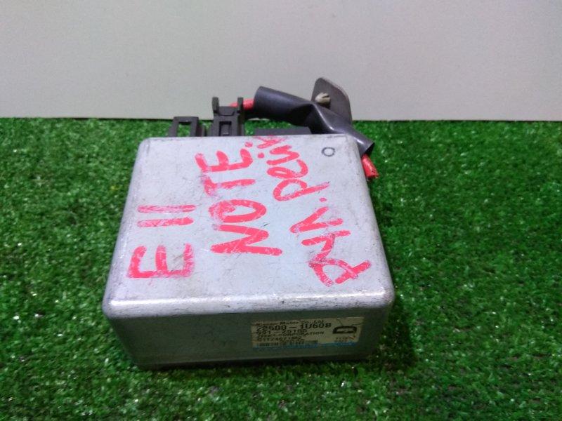 Блок управления рулевой рейкой Nissan Note E11 HR15DE 28500 1U60B блок управления рулевой рейкой